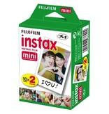 Fujifilm Instax Mini Instant Film - Twin Pack (20 Exposures)