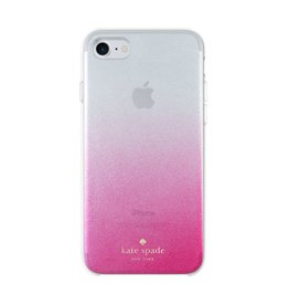 kate spade new york kate spade Comold Case for iPhone 8/7/6 -  Caberet Pink Ombre / Glitter