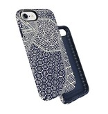 Speck Speck Presidio Inked for iPhone 7 - Shibori Tile Blue / Marine