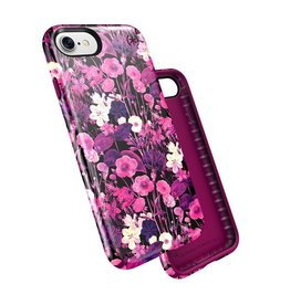 Speck Speck Presidio Inked for iPhone 7 - Flower Etch Pink / Magento