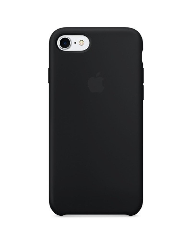 Apple Apple iPhone 7 Silicone Case - Black