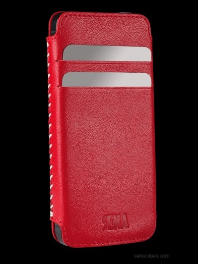 Sena Lusio for iPhone 5S / SE - Red