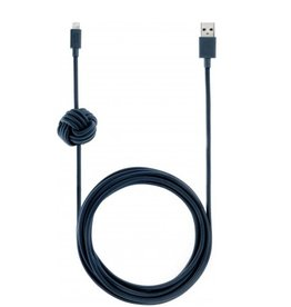 Native Union Native Union 3M USB to Lightning Knot Night Cable - Marine