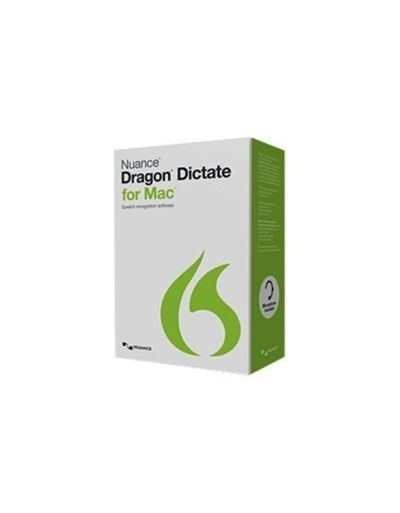 Dragon Dictate 4.0 for Mac
