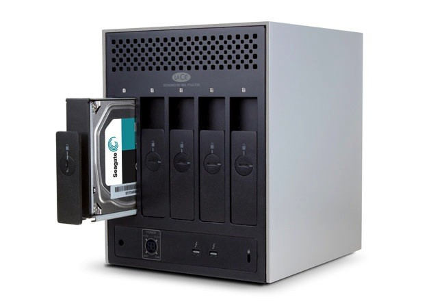 Lacie LaCie 5big 10TB Thunderbolt 2<li>Hardware RAID 5/6 with hot swap.</li><li>Dual Thunderbolt 2 ports for daisy chaining.</li><li>Aluminum enclosure and whisper-quiet fan</li><li>Available for special order.</li>