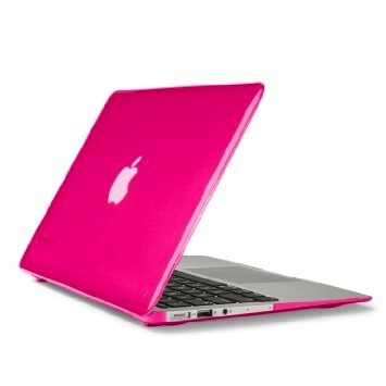 Speck Speck See Thru Satin Shell for MacBook Air 11 - Hot Lips Pink