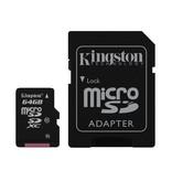 Kingston Micro SDXC Class 10 - 64GB