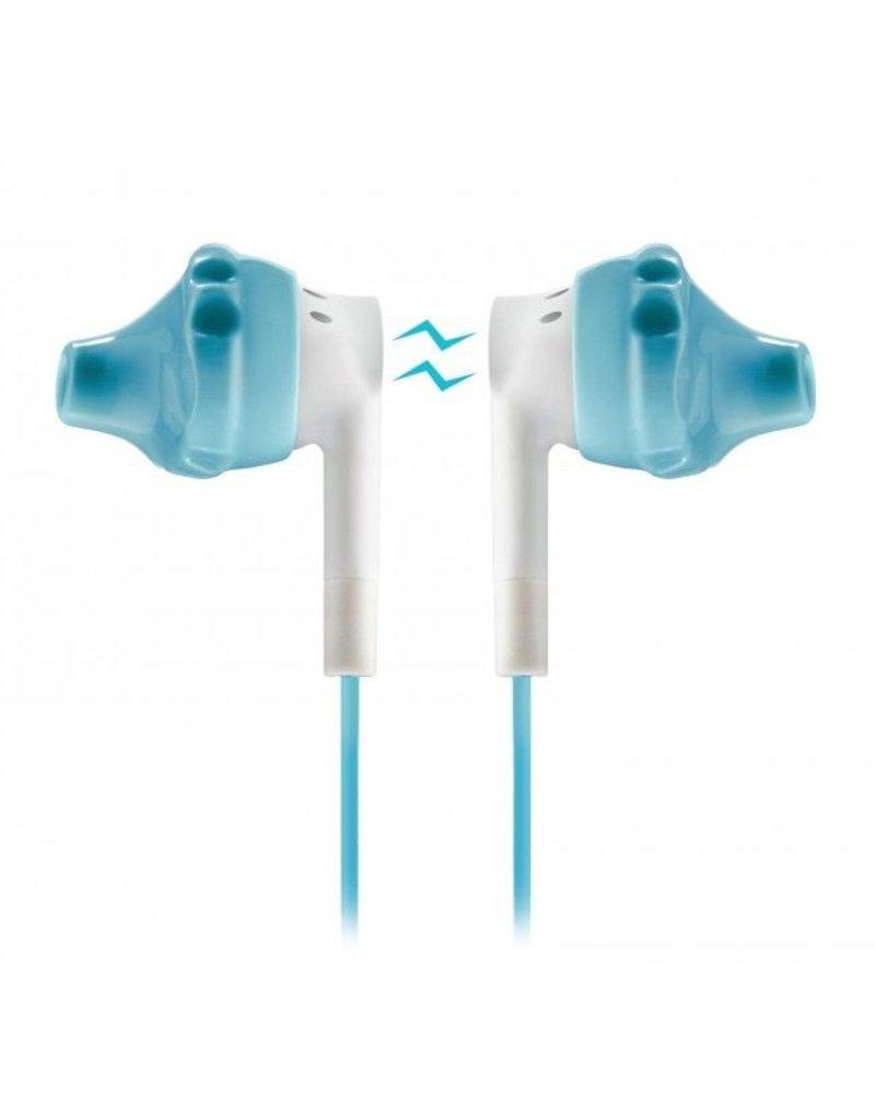 yurbuds Yurbuds Inspire 300 Sport Headphones + Mic - Aqua / White