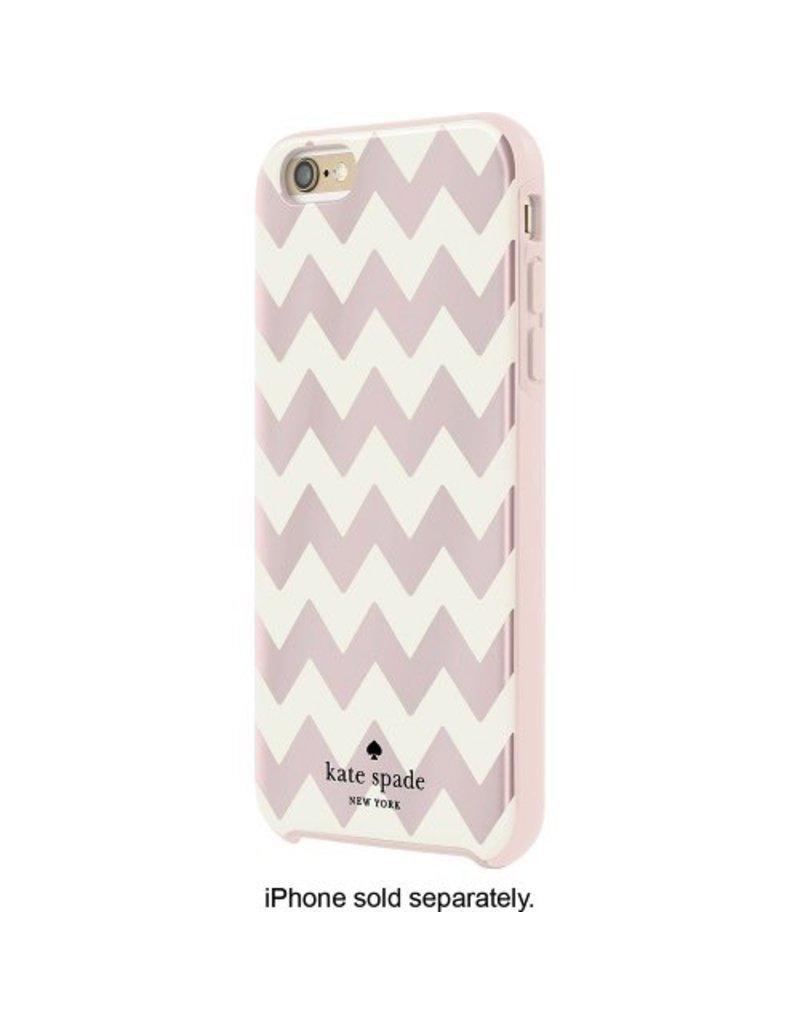 kate spade new york kate spade Hybrid Case for iPhone 6 / 6s Plus - Chevron Blush