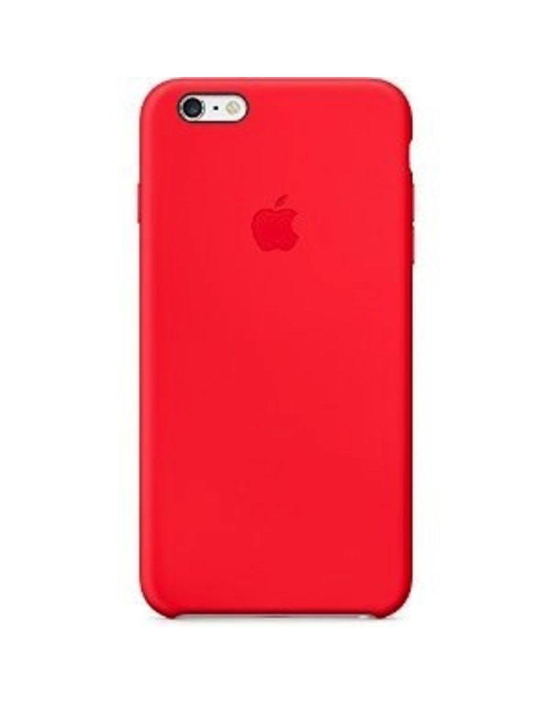 Apple Apple iPhone 6 Plus Silicone Case Red
