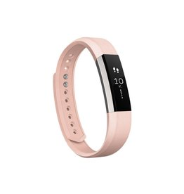 FitBit FitBit Alta Leather Band - Large Blush Pink