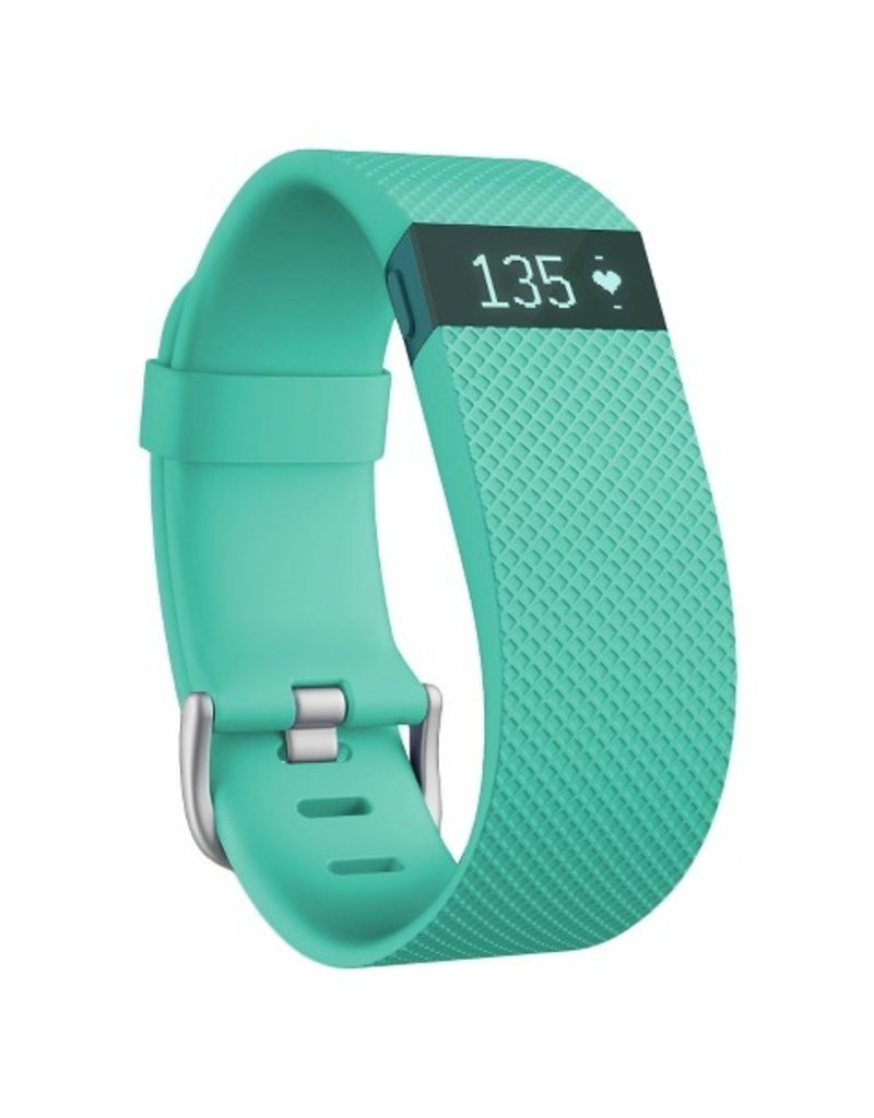 FitBit Charge HR Wireless Activity/ Sleep/ Heart Rate Wristband - Large Teal