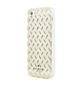 kate spade new york kate spade Clear Case for iPhone 5s / SE - Chevron Gold Foil