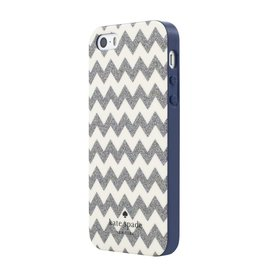 kate spade new york kate spade Hybrid Case for iPhone 5s / SE - Chevron Multi Glitter