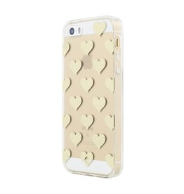 kate spade new york kate spade Clear Case for iPhone 5s / SE - Gold Foil Hearts
