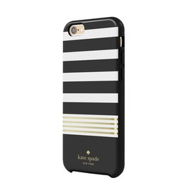 kate spade new york kate spade Hybrid Case for iPhone 6 / 6s - Black / White / Gold Foil