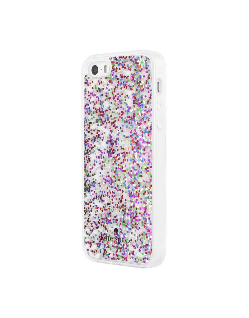 kate spade new york kate spade Clear Case for iPhone 5s / SE - Multi Glitter
