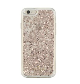 kate spade new york kate spade Clear Case for iPhone 6 / 6s - Rose Gold Glitter