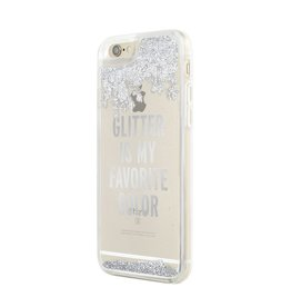 kate spade new york kate spade Clear Case for iPhone 6 / 6s - Glitter is My Favourite Color Silver