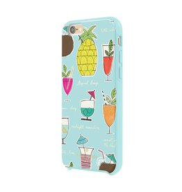 kate spade new york kate spade Hybrid Case for iPhone 6 / 6s - Cocktail Recipe Blue