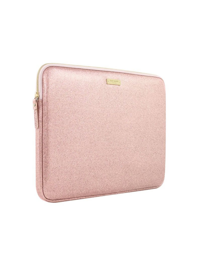 "kate spade new york kate spade Sleeve for 13"" Macbook - Rose Gold Glitter"
