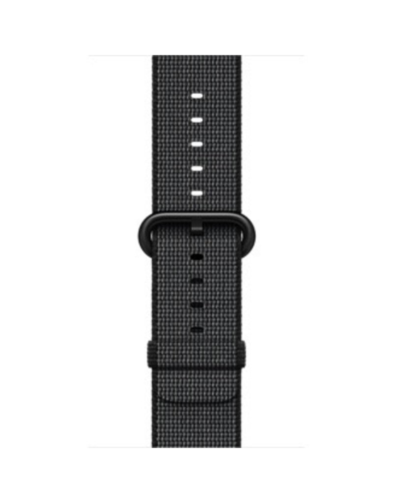 Apple Apple Watch 42mm Black Woven Nylon Band