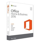 Microsoft Office MAC Home Business 2016 Medialess - 1 Mac