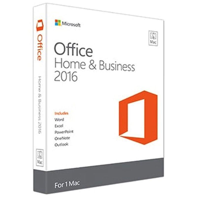 Microsoft Office MAC Home Business 2016 Medialess - 1 Mac