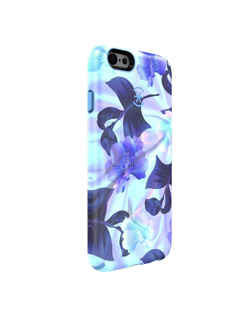 Speck Speck Candyshell INKED Luxury for iPhone 6 / 6s - Hawaiin Silk / Periwinkle Blue