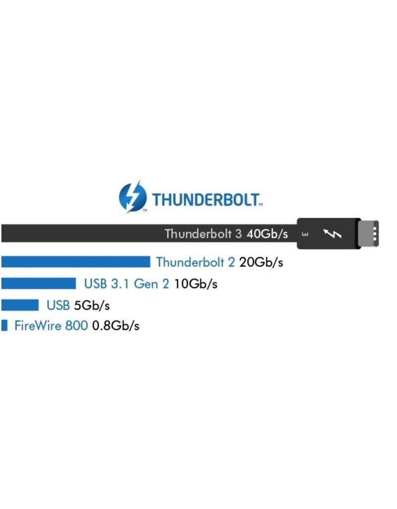 Lacie LaCie Bolt3 Mobil 2TB SSD RAid, Dual Thunderbolt 3 Ports , USB 3.1