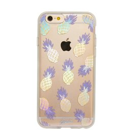 Sonix Sonix Clear Coat Case for iPhone 6 / 6s - Pineapple Rainbow