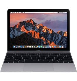 Apple Macbook 12 Inch 1.1GHz Dual-Core Intel Core m3 8GB 256GB - Space Gray