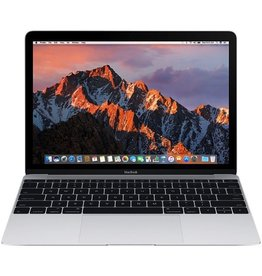 Apple Macbook 12 Inch 1.1GHz Dual-Core Intel Core m3 8GB 256GB - Silver