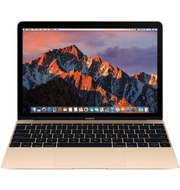 Apple Macbook 12 Inch 1.1GHz Dual-Core Intel Core m3 8GB 256GB - Gold