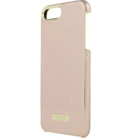 kate spade new york kate spade Wrap Case for iPhone 8/7/6 Plus - Saffiano Rose Gold