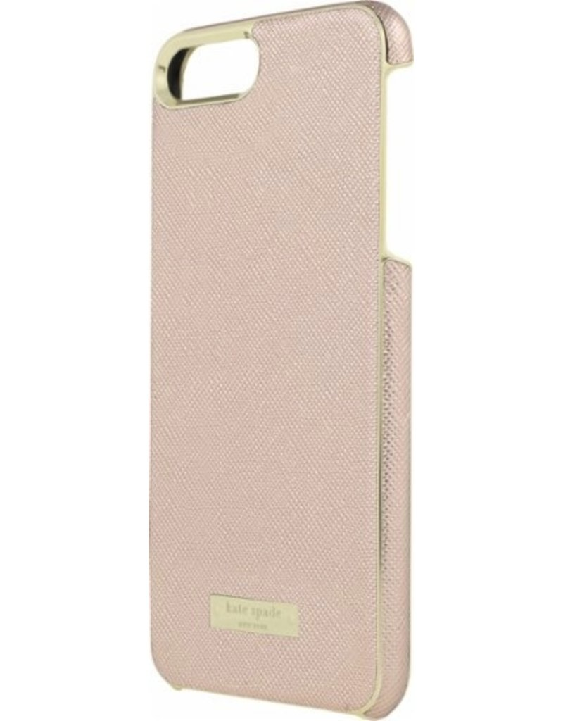 kate spade new york kate spade Wrap Case for iPhone 6/6s/7 Plus - Saffiano Rose Gold