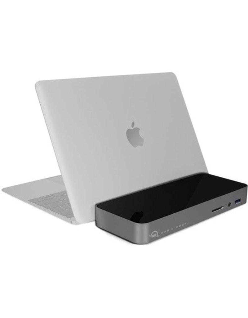 OWC USB-C 10-Port Dock with 80 Watt Power Supply - Space Gray