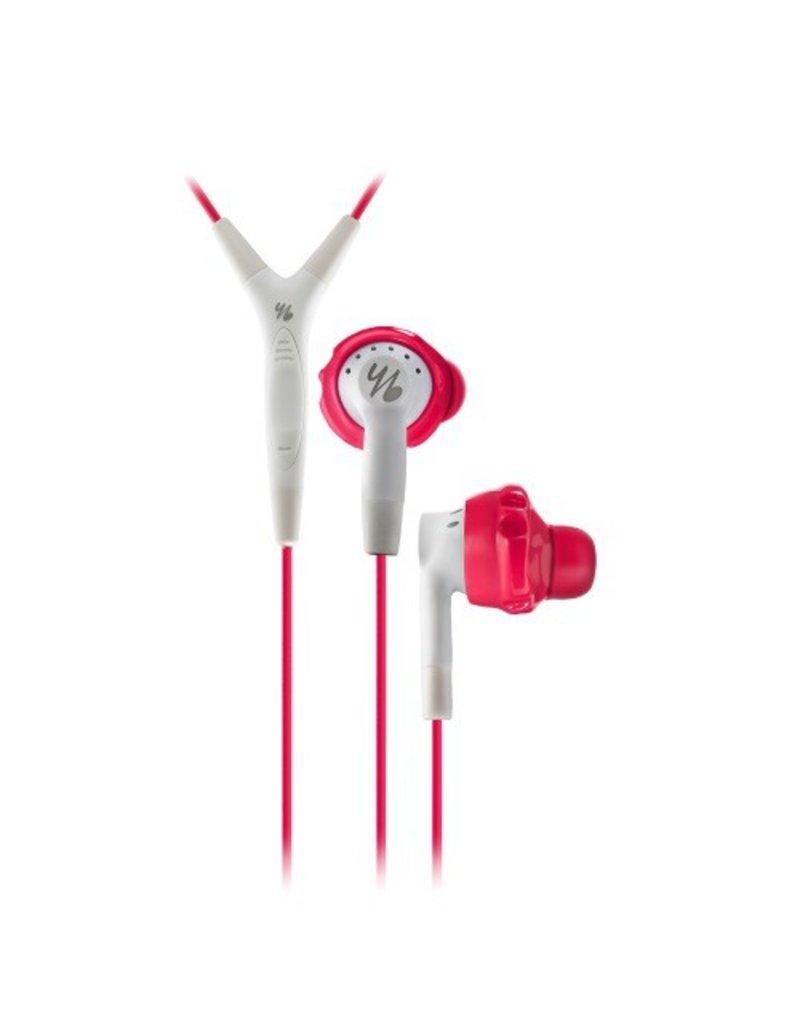 yurbuds Yurbuds Inspire 400 Sport Headphones + Mic - Pink / White