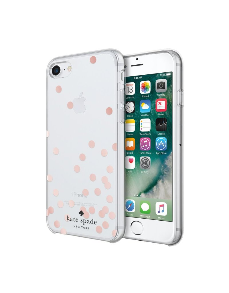 kate spade new york kate spade Comold Case for iPhone 6/6s/7 - Rose Gold Foil Confetti