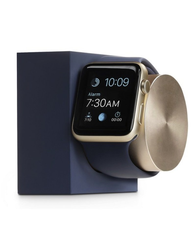 Native Union Native Union DOCK for Apple Watch -Marine Blue / Gold