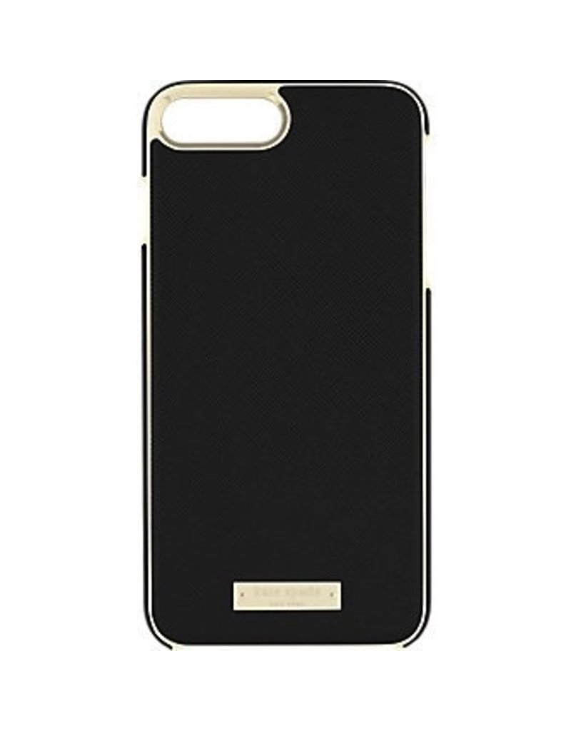 kate spade new york kate spade Wrap Case for iPhone 8/7/6 Plus - Saffiano Black