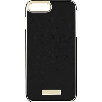 kate spade new york kate spade Wrap Case for iPhone 8/7/6 Plus - Saffiano Black