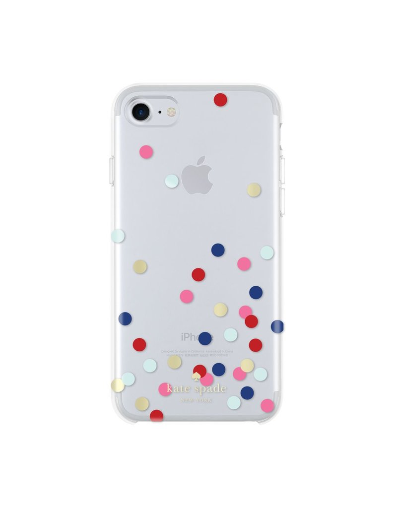 kate spade new york kate spade Comold Case for iPhone 6/6s/7 -  Confetti Multi Dot