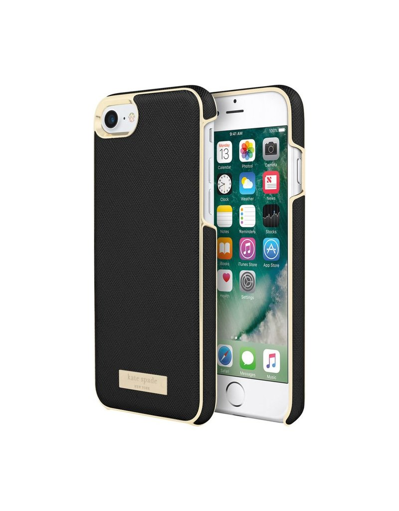 kate spade new york kate spade Wrap Case for iPhone 8/7/6 - Saffiano Black