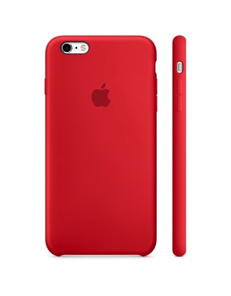 Apple Apple iPhone 6 Plus Silicone Case Red