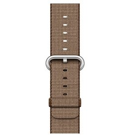 Apple Apple Watch 42mm Coffee / Caramel Woven Nylon Band