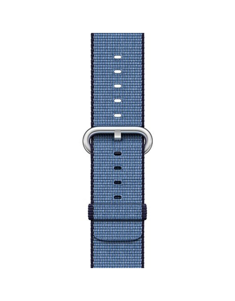 Apple Apple Watch 38mm Navy / Tahoe Blue Woven Nylon Band