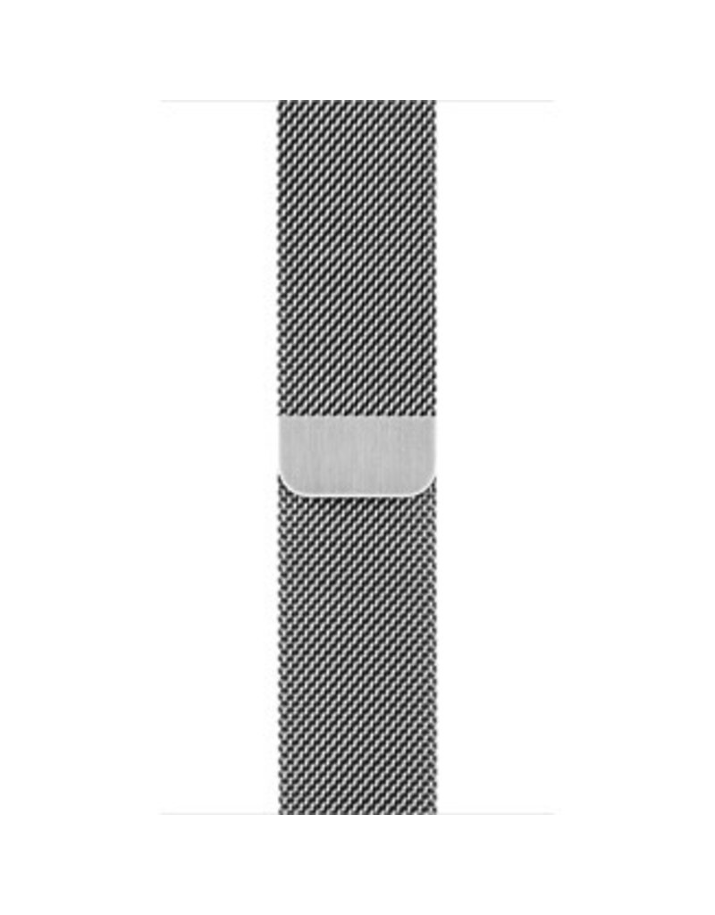 Apple Apple Watch Band 38mm Silver Milanese Loop