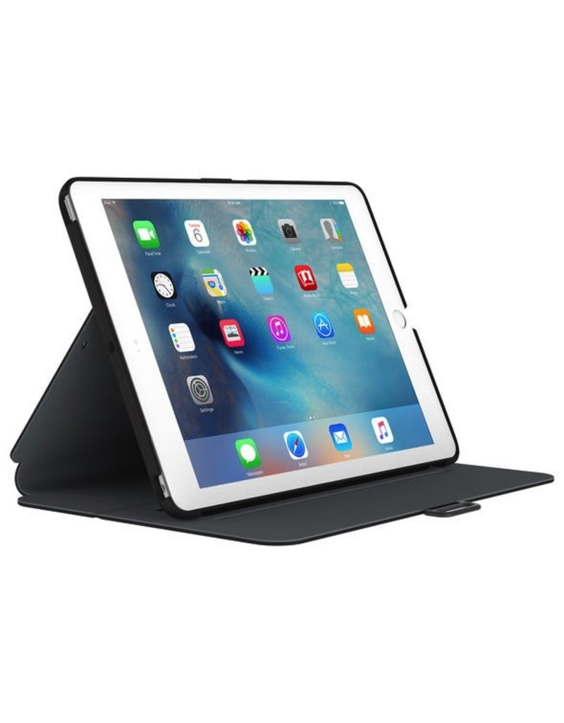 Speck Speck Stylefolio for All 9.7-Inch iPads - Black / Slate Gray