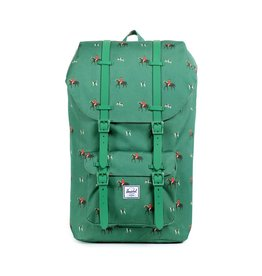 Herschel Supply Herschel Supply Little America Backpack- Sunday / Emerald Rubber